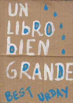 UN LIBRO BIEN GRANDE, Sarita Cartonera 2006