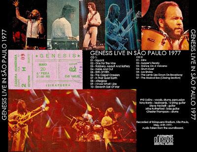 GENESIS 1977-05-21 SГЈo Paulo