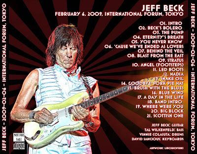 JEFF BECK 2009-02-06 Tokyo