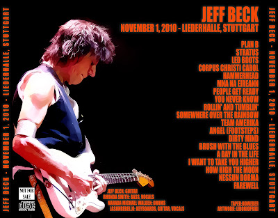 JEFF BECK 2010-11-01 Stuttgart