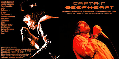 CAPTAIN BEEFHEART 1974-05-03 Cambridge