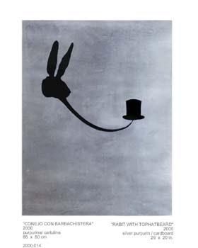 'Conejo con barbachistera' Juan Carlos Rodríguez, 2000