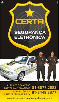 CERTA SEGURANÇA ELETRÔNICA