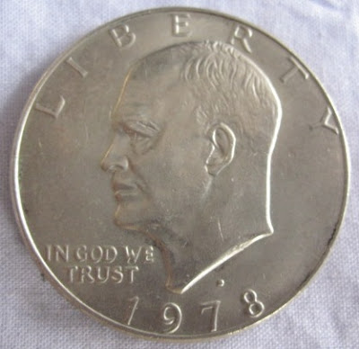 usa eisenhower dollar 1978