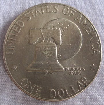 usa eisenhower bicentennial dollar liberty bell