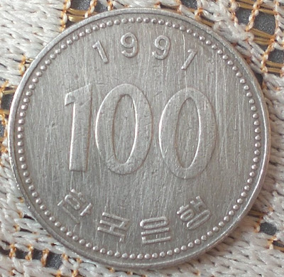 korean 100 won