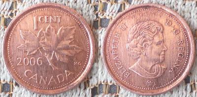 canada 1 cent 2006