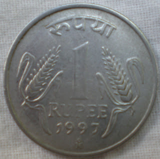 one rupee mexico mint