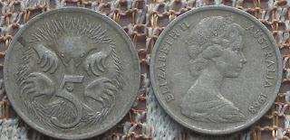 5 cent 1968