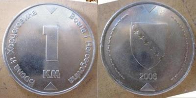 bosnia herzegovina 1 marka 2006