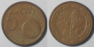 germany euro 5 cent 2002
