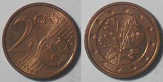 germany euro 2 cent 2008