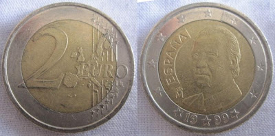 spain 2 euro 1999