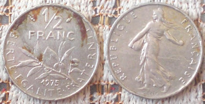 1/2 franc 1975