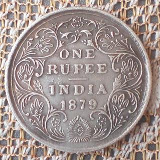 fake victoria rupee 1879