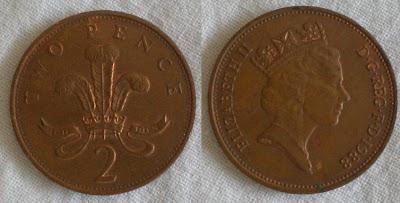 england 2 pence 1988