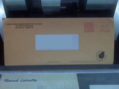 The Brown Envelope I Received With My PPR