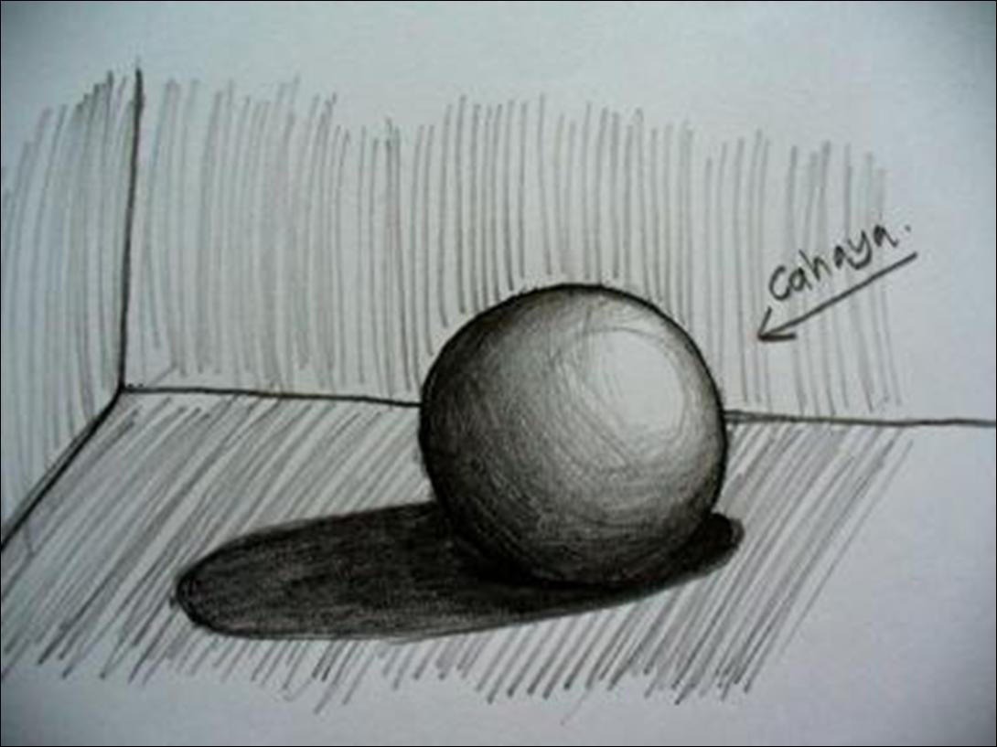 28 Images Of Pensil Gambar Sketsa Bayangan
