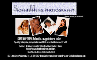 Sophie's Touch Photography Studio Grand Opening!