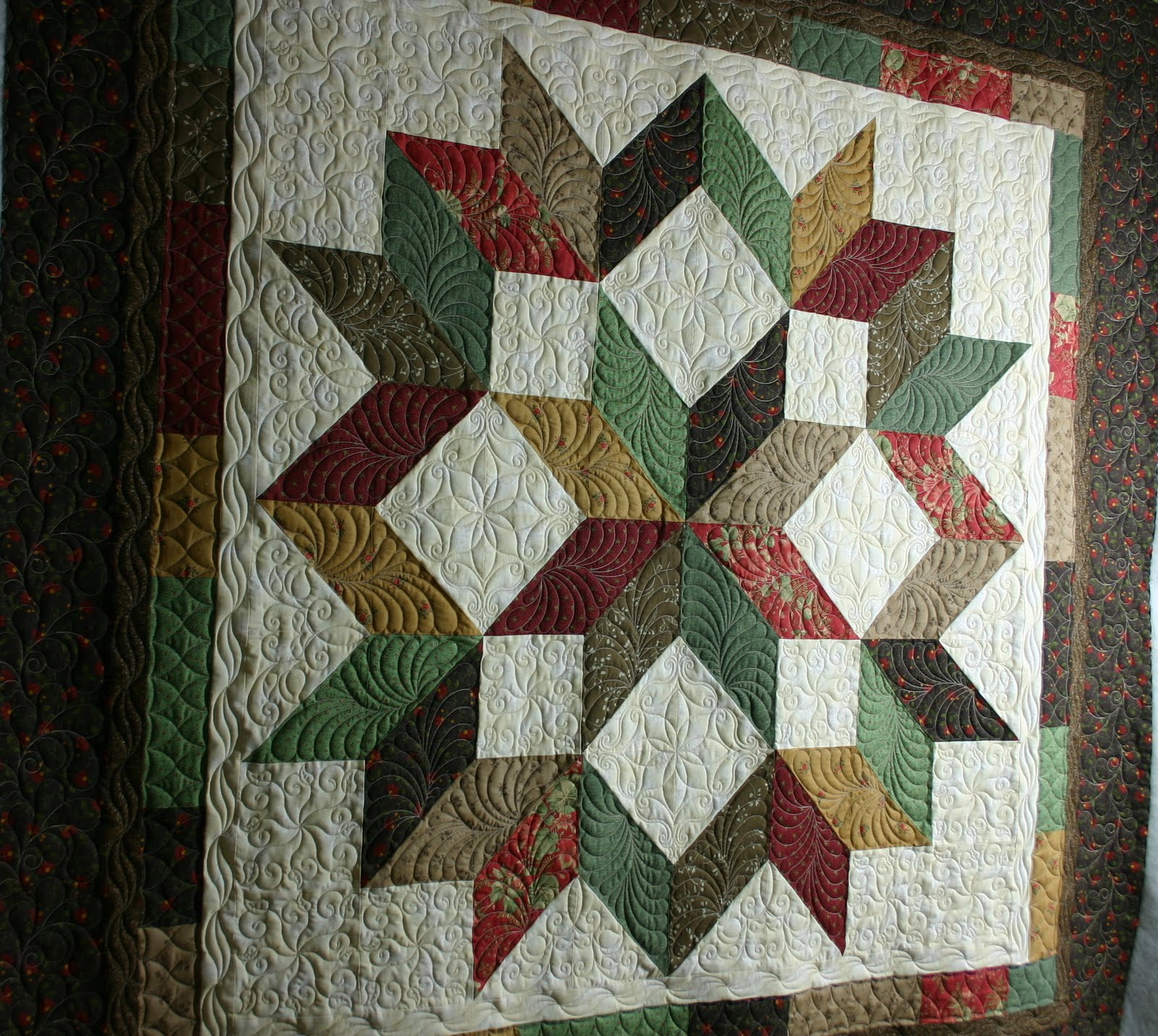 Three Bears Quilting Carpenter S Star Is Finished