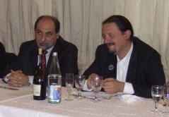Umberto Guidoni e Marco Zambianchi ad Astronauticon 2