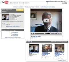 Il canale YouTube dell'Agenzia Spaziale Italiana