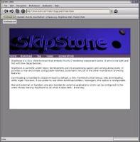 Skipstone, browser web che fa della leggerezza e della semplicità strutturale i suoi punti di forza