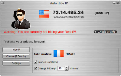 Auto Hide IP :: Open Auto Hide IP