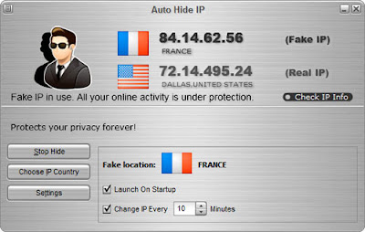 Auto Hide IP :: Hide IP Address
