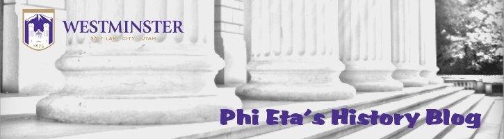 Phi Eta's History Blog