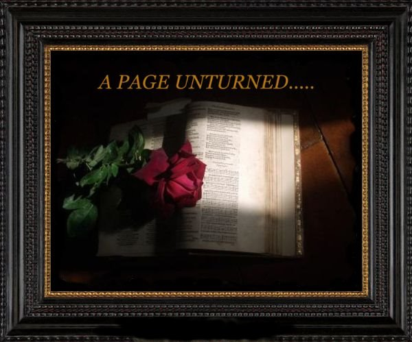 A PAGE UNTURNED