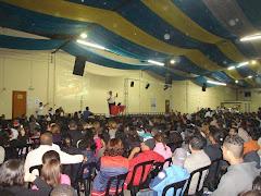 Ministração no Intensivão TEEN  - Faculdade Teológica Betesda - Agosto 2008