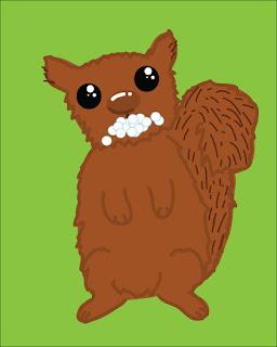 Rabid Squirrel Foaming