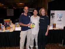 With Kathrine Switzer and Roger Robinson