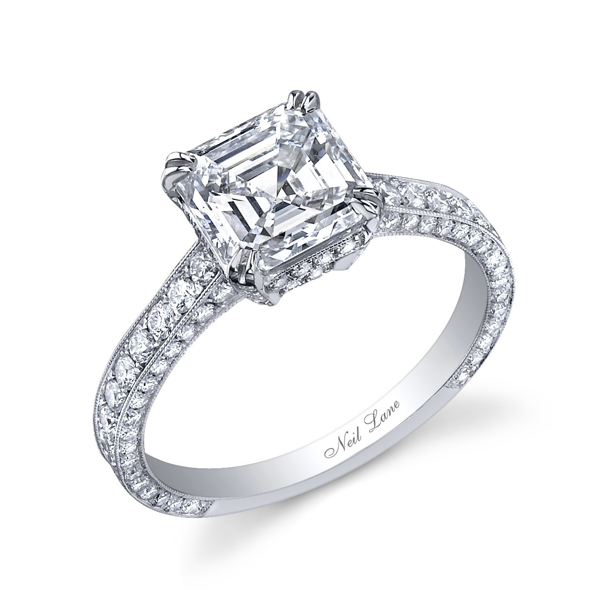 ct mv bridal neil cushion cut lane gold zoom to set diamonds tw zm en kayoutlet diamond hover white kayoutletstore