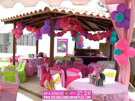 Eventos y decoraciones infantiles fiestas infantiles con for Decoracion parques