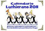 CALENDARI LUTHIERÀ 2011