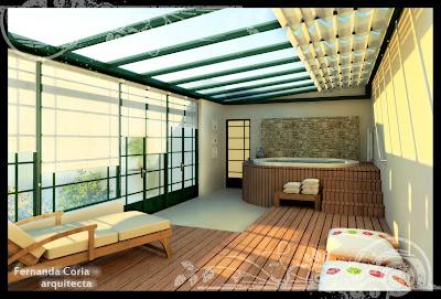 3d architectural renders terraza cubierta - Cubierta para terraza ...
