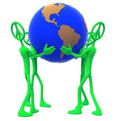 Juntos podemos fazer deste mundo, um mundo bem melhor pra se viver!
