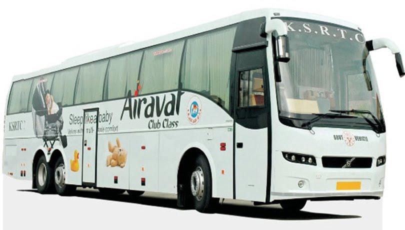 Older Volvo Touring Bus