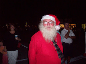 "A ""ssslightly"" inebriated Santa"