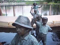 statues...