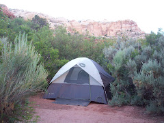 Calf Creek campsite