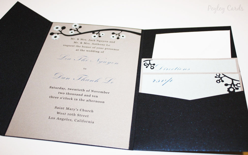 and incorporated their wedding colors navy blue blue silver white