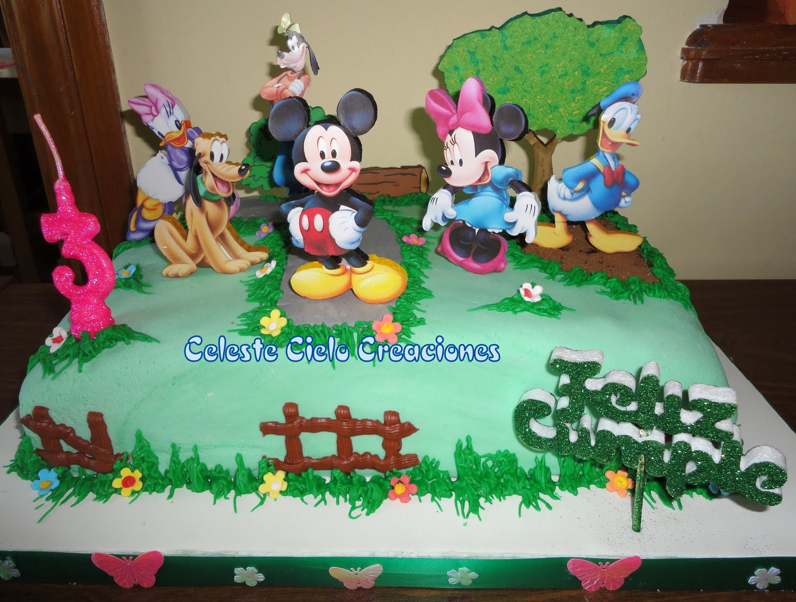 Tortas De Mickey Mouse Y Sus Amigos and post Tortas De Mickey Mouse Y ...