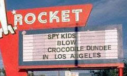 Spy Kids Blow Crocodile Dundee in Los Angeles