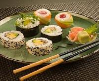 Restaurante japones Sushi y maki en vacaciones en oferta