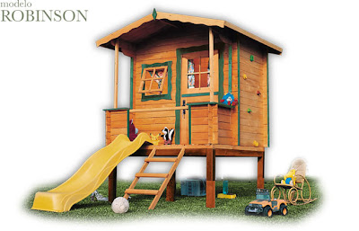 Los caprichos de alice bows green house casas de madera for Casitas de jardin para ninos