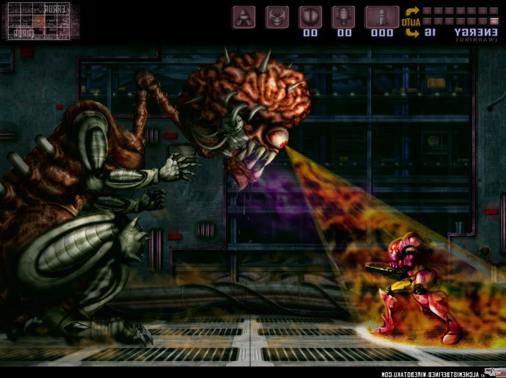 mother brain metroid - photo #14
