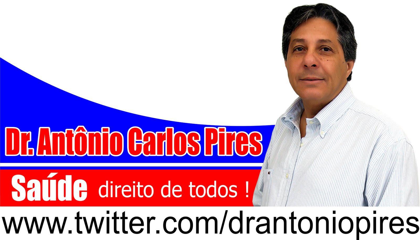 Trajetória - Dr. Antônio Carlos Pires